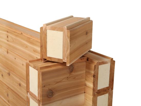 Eurologs houtbouw uw adres voor cederhouten huizen chalets houten woningen houten - Chalet hout ...