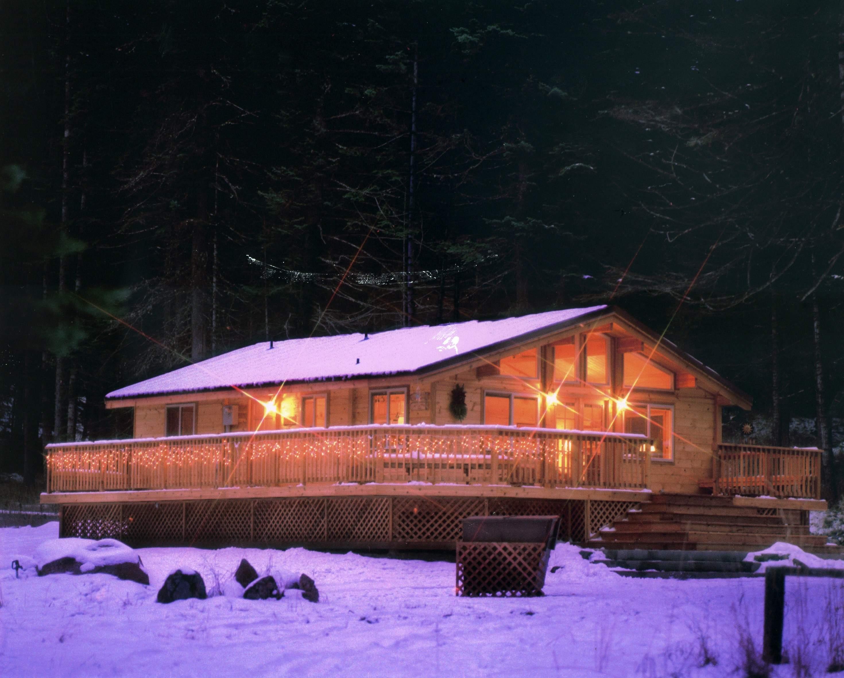 Log home Avalon recreatie