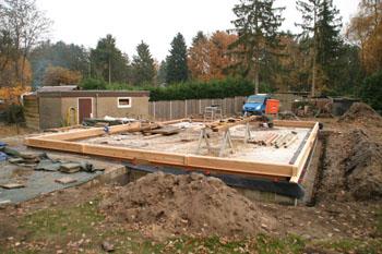 start bouw (recreatie)woning
