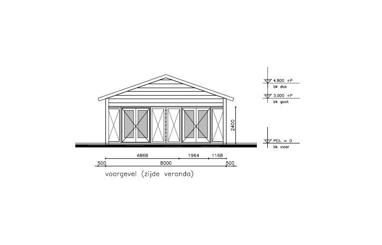 Scoutinggebouw design 3