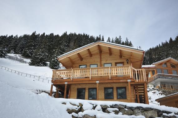 Foto 1 website versie huis in Muerren januari 2012