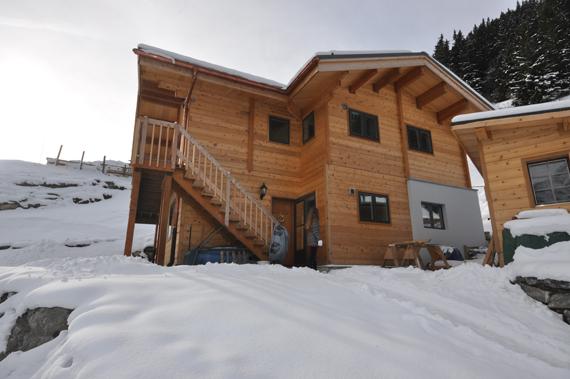 foto 3 website versie huis in Muerren januari 2012.