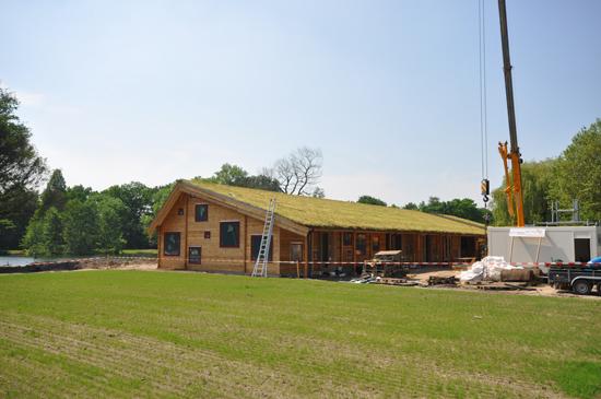 Het groene dak ligt erop website formaat