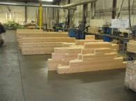 Balken klaar in fabriek