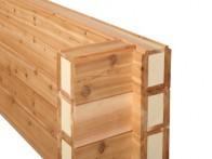 Gepatenteerd bouwsysteem met geintegreerde isolatie in bouwelement