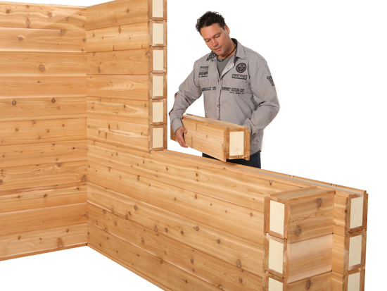 Zelfbouw door geïsoleerde bouwmethode is kinderspel.